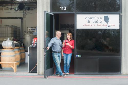 Owners in Doorway